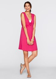 Shirt-Kleid, bpc bonprix collection, dunkelpink