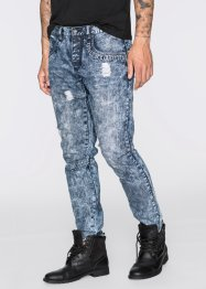 Jeans Loose Fit Tapered, RAINBOW, dark blue stone