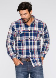 Flanell Hemd Regular Fit, John Baner JEANSWEAR, royal kariert