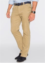 Cordhose Regular Fit Straight, bpc bonprix collection, beige