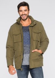 Fieldjacke, leicht wattiert. Regular Fit, bpc bonprix collection, khakigrün