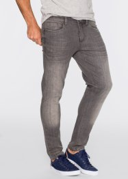 Stretchjeans Slim Fit Straight, John Baner JEANSWEAR, mittelgrau