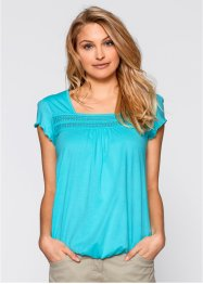 Shirt, bpc bonprix collection, aqua