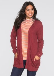 Strickjacke, BODYFLIRT, bordeaux