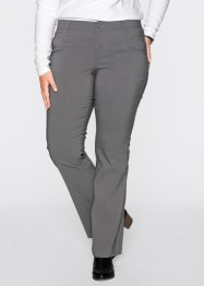 Basic Bengalinhose, bpc bonprix collection, rauchgrau
