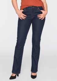 Bootcut-Jeans, BODYFLIRT, dark denim