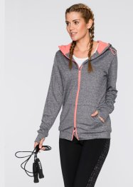 Funktionsjacke, bpc bonprix collection, schiefergrau meliert