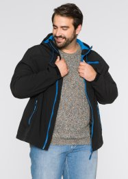 Softshell-Jacke Regular Fit, bpc bonprix collection, schwarz