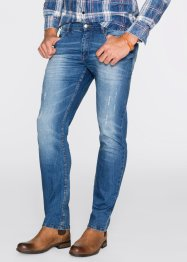 Stretchjeans Slim Fit Straight, John Baner JEANSWEAR, blau
