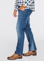 Stretchjeans Regular Fit Bootcut, John Baner JEANSWEAR, blau