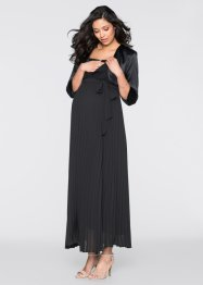 langes Umstandskleid / Stillkleid, bpc bonprix collection, schwarz