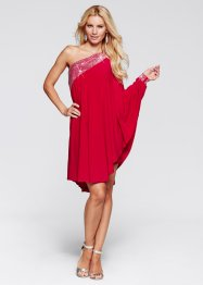 One-Shoulder-Kleid, BODYFLIRT boutique, magenta