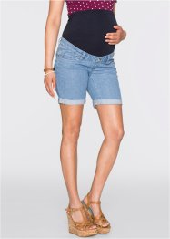 Umstands-Jeansshorts, bpc bonprix collection, blue bleached