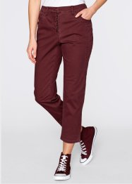 7/8-Stretch-Hose, bpc bonprix collection, bordeaux