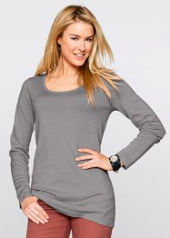 Long-Pullover, bpc bonprix collection, nektarine