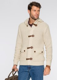 Strickjacke Regular Fit, bpc bonprix collection, beige