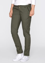 Boyfriend-Chino, bpc bonprix collection, dunkeloliv