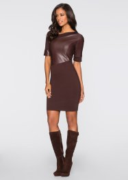 Kleid, BODYFLIRT boutique, braun