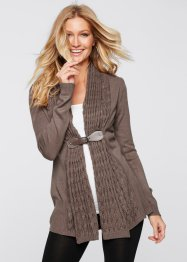 Strickjacke, BODYFLIRT boutique, braun