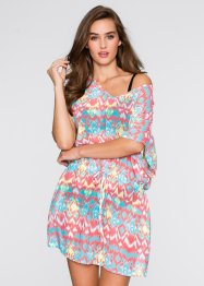 Kaftan Nachthemd, bpc bonprix collection, bunt gemustert