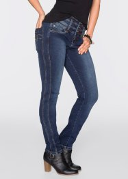 "Power-Stretch-Jeans ""Bauch-Beine-Po"", Slim, John Baner JEANSWEAR, blau"
