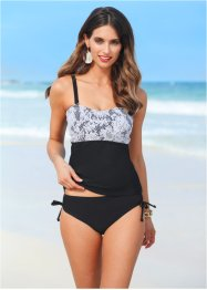 Tankini (2-tlg. Set), bpc selection, schwarz