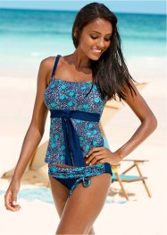 Tankini Oberteil, bpc bonprix collection, blau/türkis