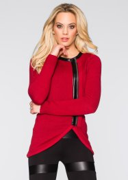 Strickjacke, BODYFLIRT boutique, dunkelrot