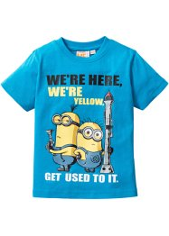 "T-Shirt ""MINIONS"", Despicable Me 2, mitteltürkis ""MINIONS"""