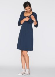 Umstandskleid/ Stillkleid, bpc bonprix collection, dunkelblau