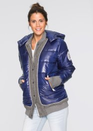 College-Steppjacke, bpc bonprix collection, mitternachtsblau