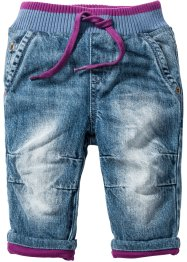 Baby Thermojeans, John Baner JEANSWEAR, blue stone/beere