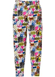 Lange Leggings, bpc bonprix collection, bunt bedruckt
