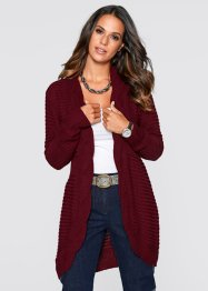 Longstrickjacke, bpc selection, ahornrot