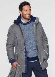Funktions-Langjacke Regular Fit, bpc bonprix collection, rauchgrau