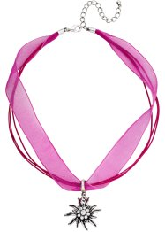 "Collier ""Edelweiß"", bpc bonprix collection, pink/silberfarben"