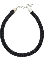 Collier, bpc bonprix collection, schwarz glänzend