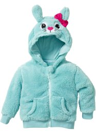 Teddyfell Jacke, bpc bonprix collection, aquapastell