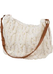 Stricktasche, bpc bonprix collection, wollweiß