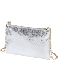 Tasche, bpc bonprix collection, silber