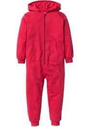 Kapuzensweat-Overall, bpc bonprix collection, rot