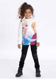 """FROZEN"" Teddyfell Pullover, bpc bonprix collection, wollweiß bedruckt"