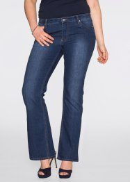 Bootcut-Jeans, BODYFLIRT, medium blue bleached