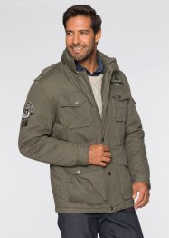 Fieldjacke im Regular Fit, bpc selection, dunkeloliv