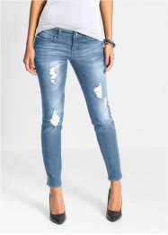 Knöchellange Stretchjeans, BODYFLIRT, blue stone used