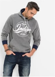 Sweatshirt Regular Fit, John Baner JEANSWEAR, grau meliert
