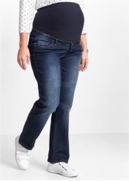 Umstandsjeans, gerades Bein, bpc bonprix collection, darkblue stone