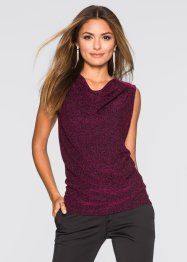 Lurex Top, BODYFLIRT, mittelfuchsia