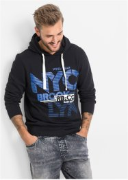 Sweatshirt, Slim Fit, RAINBOW, schwarz