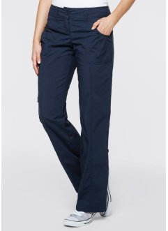 Stretch-Cargohose, bpc bonprix collection, schiefergrau